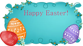Easter banner or greetings card Royalty Free Stock Images