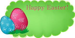 Easter banner or greetings card Royalty Free Stock Photos