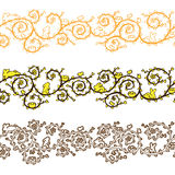 Easter banner seamless. X 3 Royalty Free Stock Photos