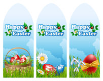 Easter banner set Stock Image
