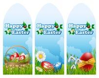 Easter banner set Stock Image