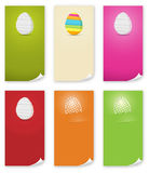 The Easter banner templates set Stock Image