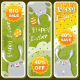 Easter banners Stock Photography