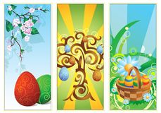 Easter Banners Royalty Free Stock Images