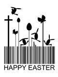 Easter bar code Royalty Free Stock Photos