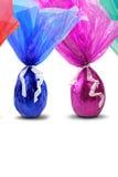 Easter barwioni jajka obraz royalty free