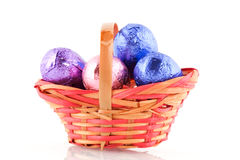 Easter basket Stock Photography