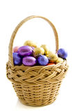Easter basket Stock Images