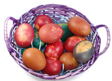 Easter basket Stock Image