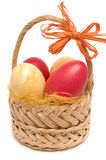 Easter Basket. Royalty Free Stock Photos