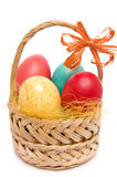 Easter Basket. Royalty Free Stock Image
