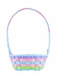 Easter Basket. Isolated on a white background Stock Image