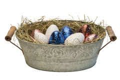 Easter_basket1 图库摄影