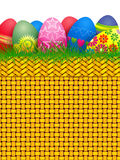 Easter basket. Illustration Royalty Free Stock Photos