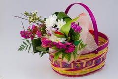 Easter basket. Royalty Free Stock Photo
