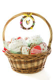 Easter basket. Royalty Free Stock Images