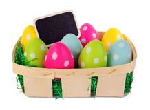 Easter basket royalty free stock photo