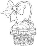 Easter Basket stock illustration