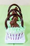 Easter Basket Cupcakes Royalty Free Stock Photos