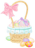 Easter Basket vector illustration