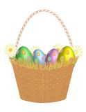 Easter Basket! Vector eps8 Royalty Free Stock Images