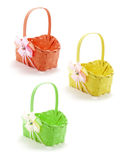Easter Baskets Royalty Free Stock Images
