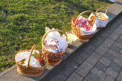 Easter Baskets Royalty Free Stock Photography
