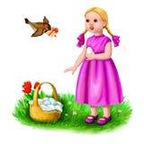 Easter bem-vindo Fotografia de Stock Royalty Free