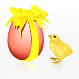 Easter biddy Stock Photo