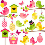 Easter Birds Royalty Free Stock Photos