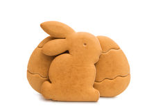 Easter Biscuits Isolated Stock Photo