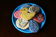 Easter biscuits Royalty Free Stock Photo