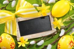 Easter blackboard Royalty Free Stock Photos