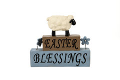 Easter Blessing Royalty Free Stock Photography