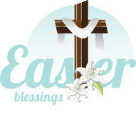 Easter Blessings Stock Images