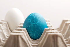 Easter blue egg. Alien blue egg, or Easter egg Stock Image