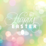 Easter Bokeh Background Royalty Free Stock Photography