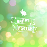 Easter Bokeh Background Stock Photos