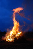Easter bonfire  Royalty Free Stock Photo