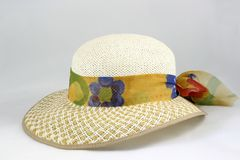 Easter bonnet side view Royalty Free Stock Photos