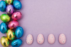 Easter Border Royalty Free Stock Images