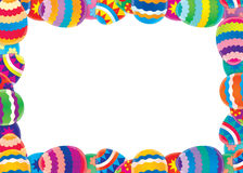 Easter border / background stock illustration