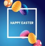 Easter border design Stock Photos