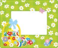 Easter border Stock Photos