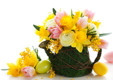 Easter bouquet Royalty Free Stock Photography