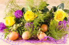 Easter bouquet Stock Images