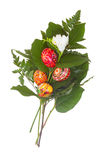 Easter bouquet Isolated Stock Images