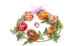 Easter bouquet Isolated Stock Photos
