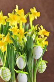 Easter bouquet Stock Photos
