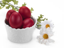 Easter Bowl With Decoration Royalty Free Stock Images